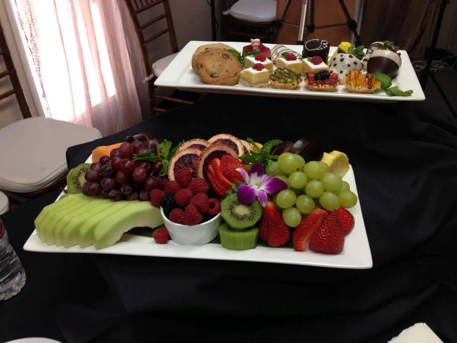 Fruit and Dessert Platters